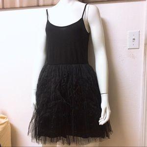 NWOT 🌟 Black Tulle Dress